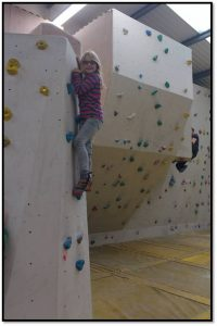 My first climbing session